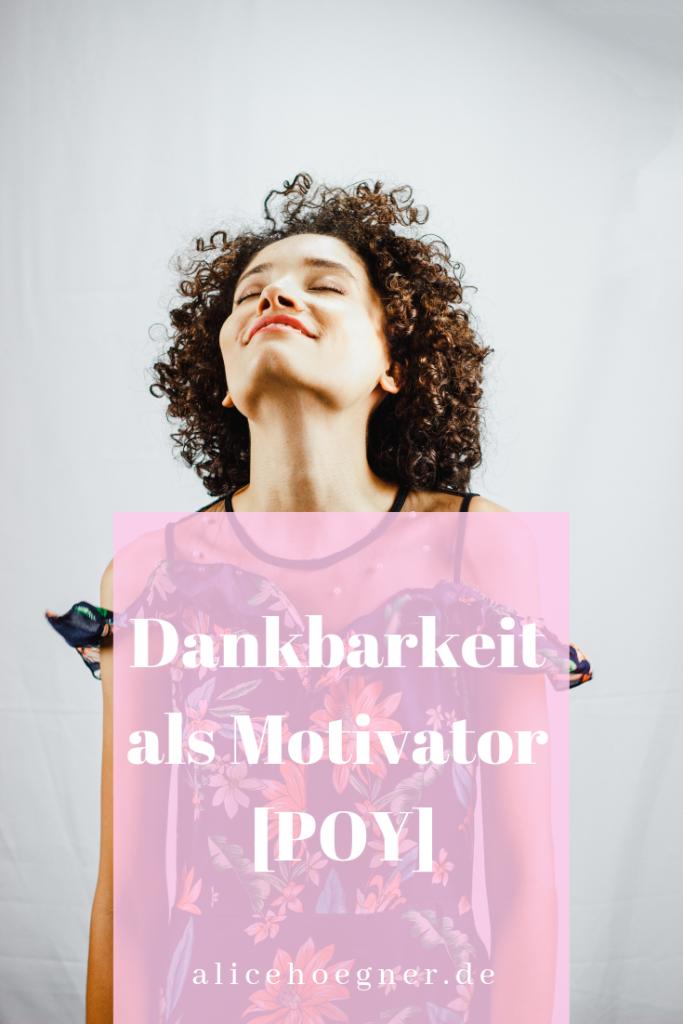 Dankbarkeit als Motivator